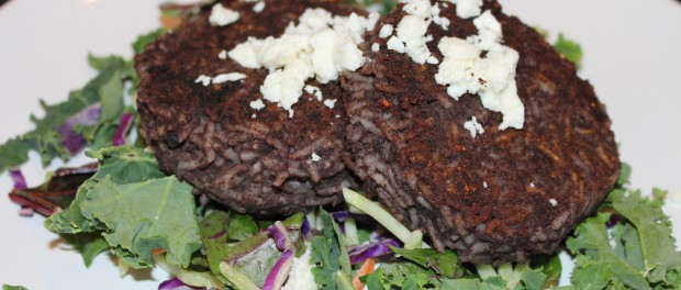 Black Beans and rice Patties