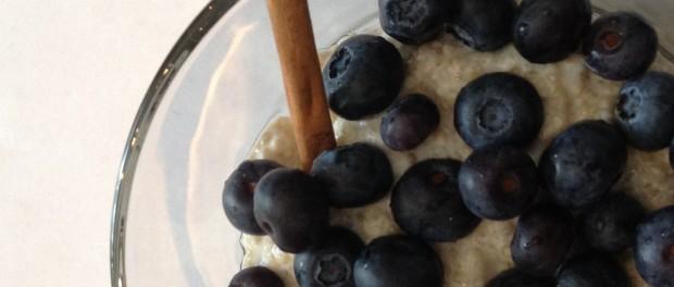Quinoa and Blue Berries Breakfast