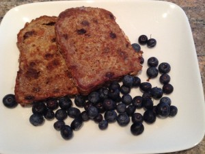 Chia Fruit Bread Freanch Toast