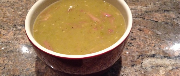 Green Split Pea and Ham Soup