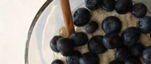 Quinoa and Blue Berries Breakfast